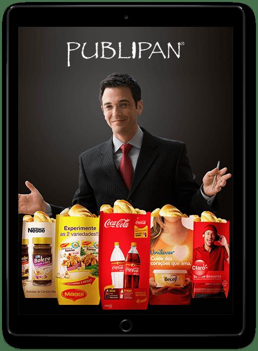 Franquia Publipan Propaganda Saco de Pão